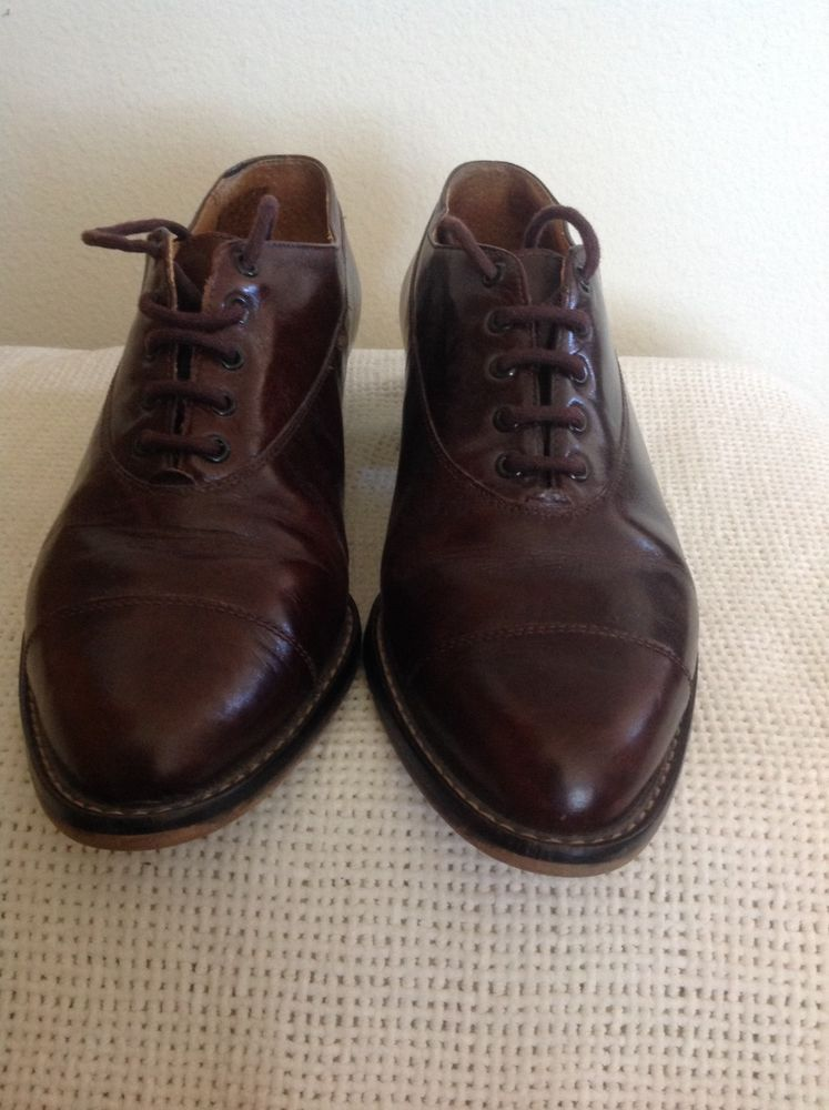 9ba1682694 NineWest Brown All Leather Oxford Lace Up Shoes Size 6 M #fashion #clothing  #shoes #accessories #womensshoes #heels (ebay link)