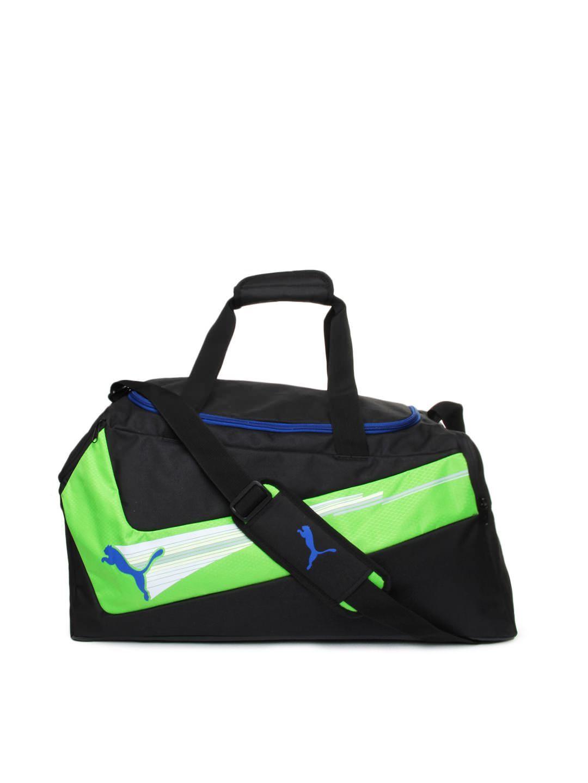 ee1e2d8bc5bcae 25% OFF on Puma Unisex Black evoSPEED Medium Duffle Bag Duffel Bags, Bag  Sale
