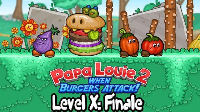 Frivcom Friv Papa Louie Games Papa Louie 2 Burgers Attack Free Girl Games Papa Games