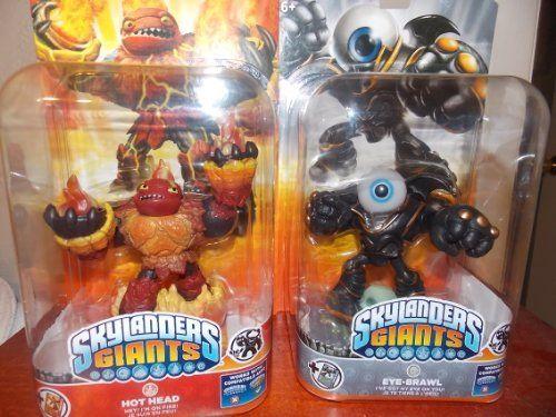 Skylander Giants 2-pack Hot head/Eye brawl by Activision. $67.45