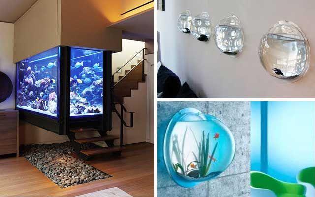 Ideas para decorar con acuarios en casa cosas que comprar en 2019 - Peceras para casa ...