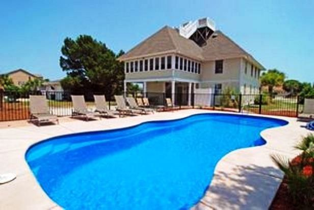 myrtle beach house rentals with pool  g home, Beach House/