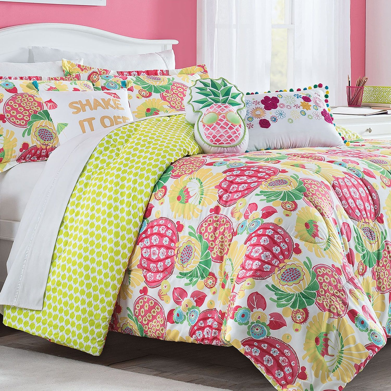 Waverly Spree Copacabana Reversible Comforter Set Copacabana