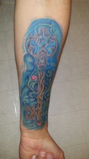 Prodigal Son Tattoo : prodigal, tattoo, Wooden, Tattoo, ~done, Prodigal, Enterprise,, Tattoo,, Tattoos