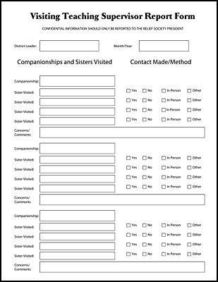 VT Supervisor Report Form made by Shayla Sharp Stuff I Made - supervisor evaluation