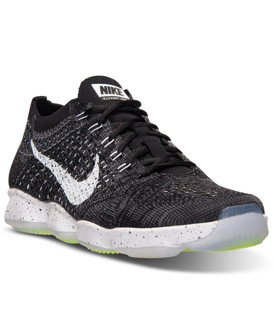 91dce10d6d7c Nike Women s Flyknit Zoom Agility Training Sneakers from Finish Line ...