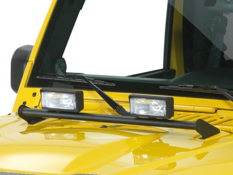 Hood Mount Lighting Jeep Jeep Wrangler Jeep Cars