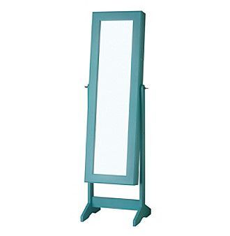 Buy Cheval Jewelry Armoire With Mirror Finish: Turquoise