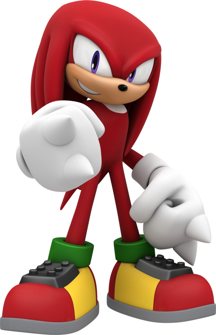 Knuckles The Echidna By Tomothys In 2021 Echidna Sonic Dash Sonic Birthday Parties