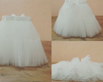 baby fashionista with tulle skirt