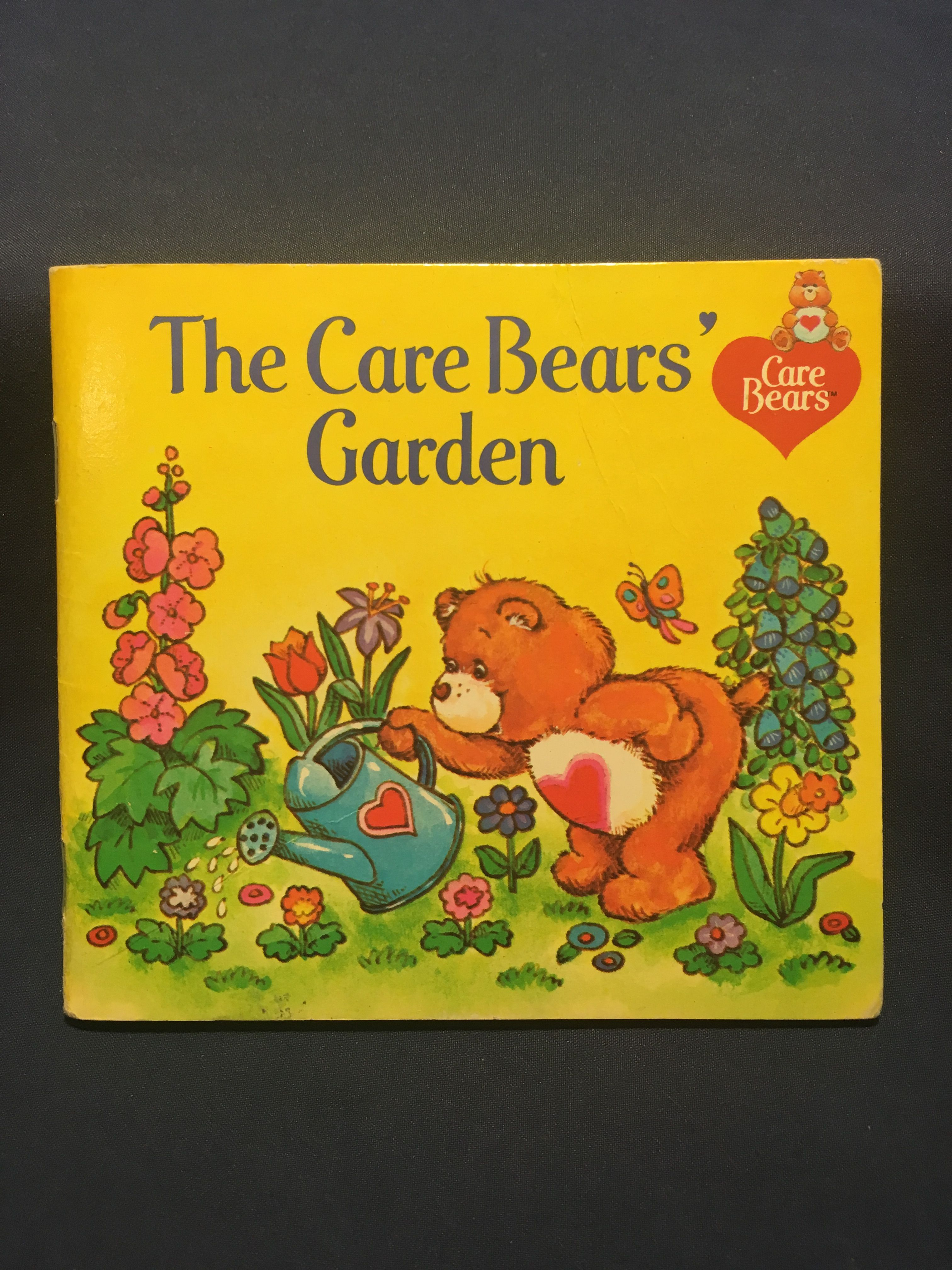 The Care Bears Garden Childrens Book 1983 Release By American