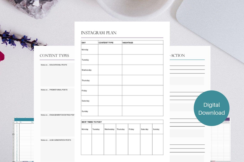 Free Social Media Templates For Excel Social Media Calendar