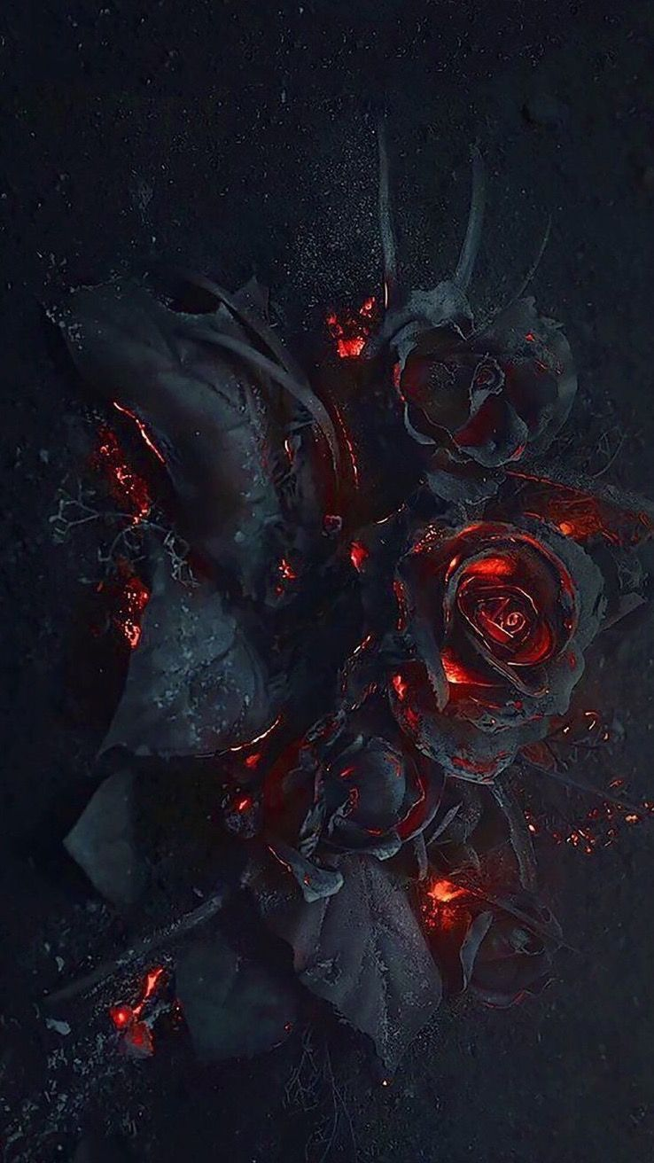 Red, Geological phenomenon, Darkness, Graphic design, Graphics, Art #darkiphonewallpaper