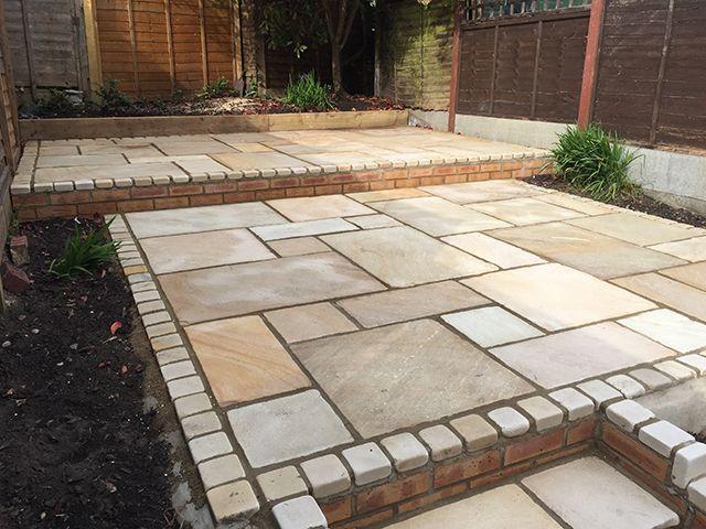 Image Result For Indian Sandstone Paving Ideas Paving Ideas Sandstone Paving Garden Ides