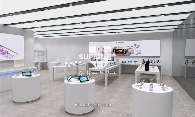 Apple Store Electronics Mobile Phone Shop Interior Design 004