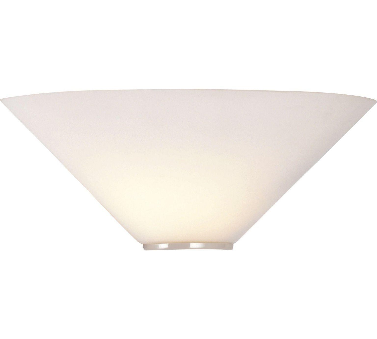 Buy HOME Mozart Glass Uplighter Wall Light at Argos.co.uk - Your ...
