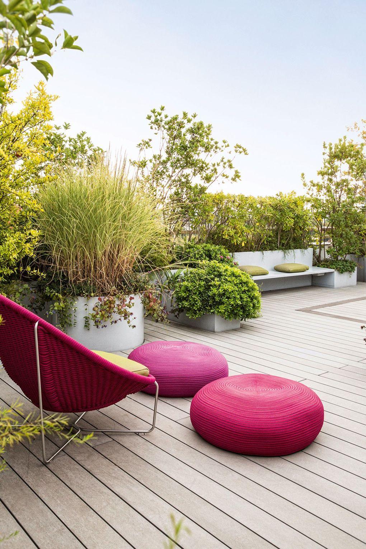 Roof Garden Design Interior Balcony Garden Modern