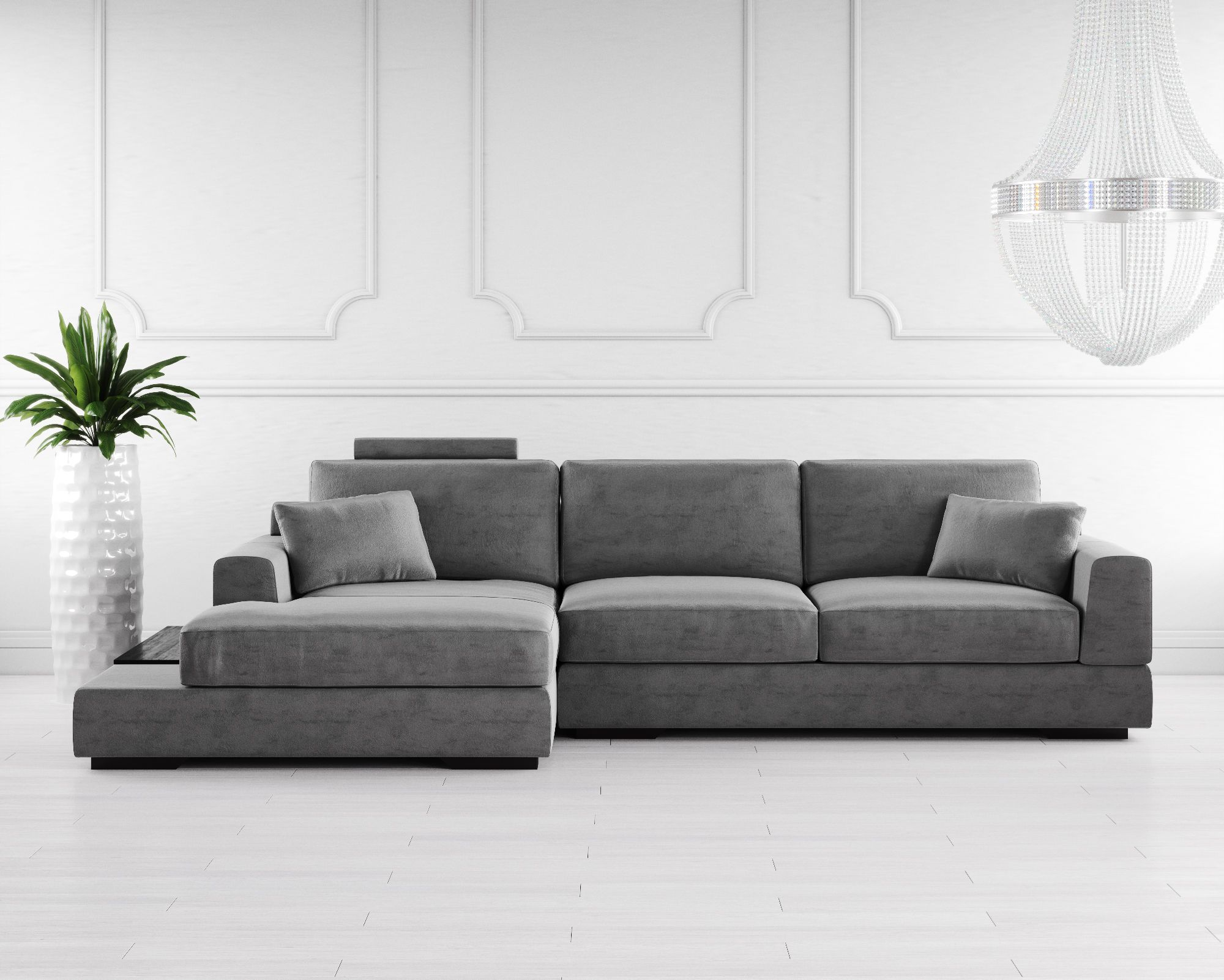 The Gino Fabric Corner Sofa Is A Graceful Design That Is Stunning And Practical Enough To Meet The Highest Demands Simple D Corner Sofa Uk Corner Sofa Sofa Uk