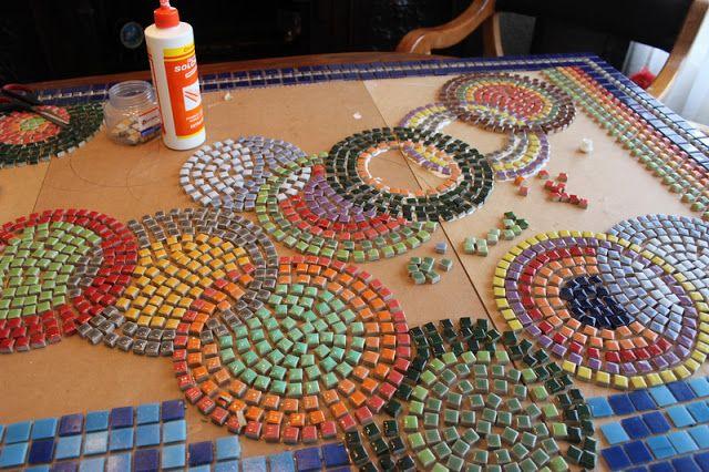 Trabajos Manuales Mosaico Jardín Almenara Pinterest