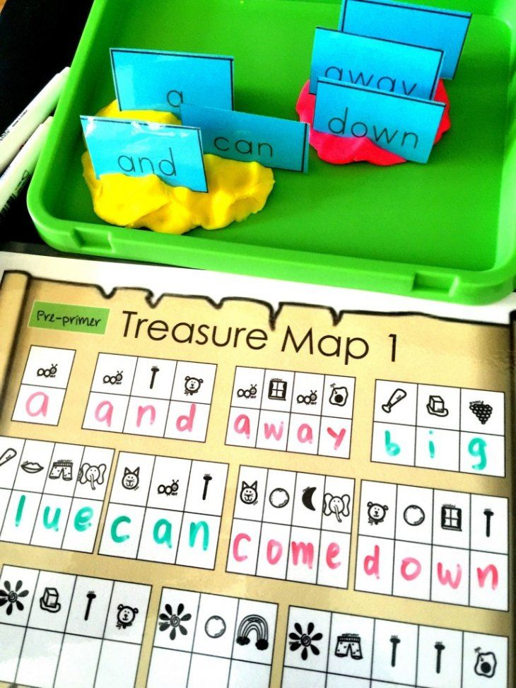 Sight Word Activity Pirate Secret Code Hunt! The Ultimate ...