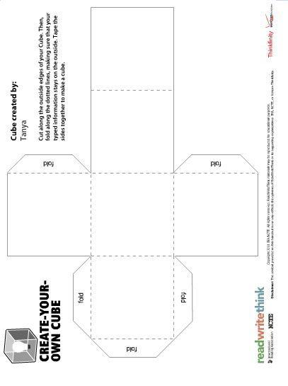 bio-cube-templatejpg 407×545 píxeles english teaching - biography template
