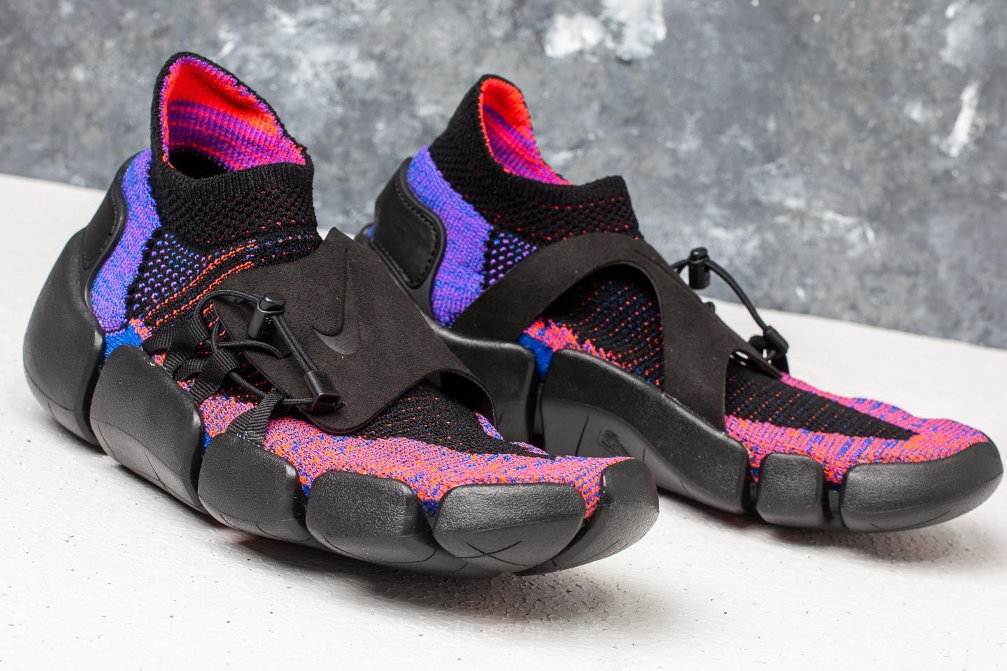 95a1a3ff76 Nike Footscape Flyknit DM Hyper Grape  Black at a great price 158 € buy at  Footshop