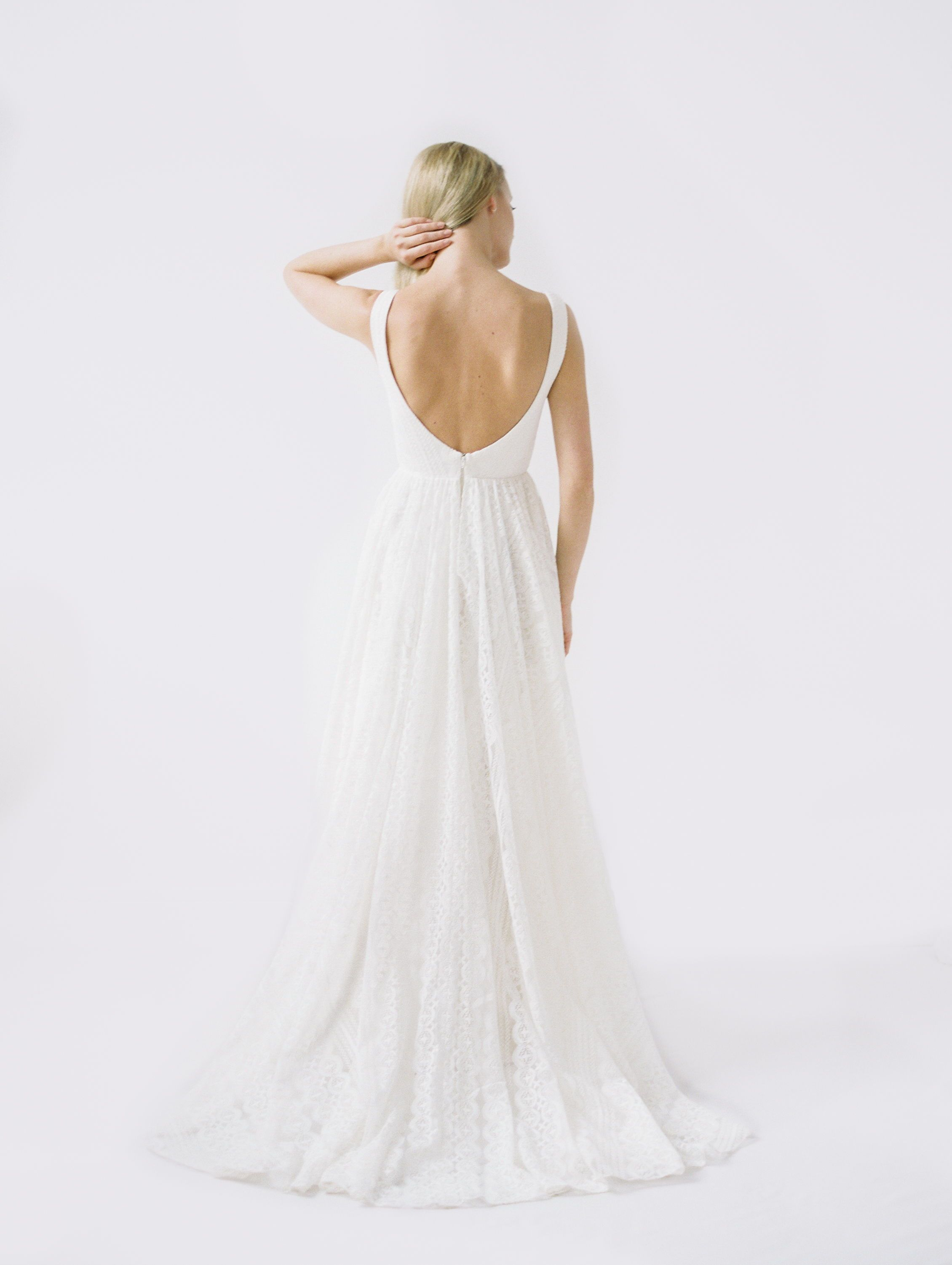 Alix by truvelle collection an embroidered boho wedding