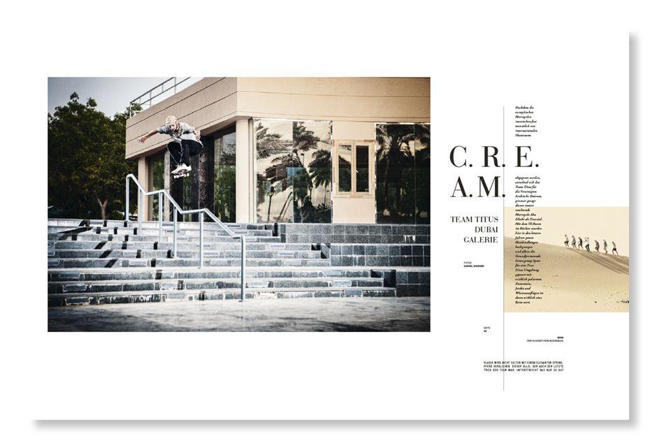 Titus Abu Dhabi Galerie   Monster Skateboard Magazine #334