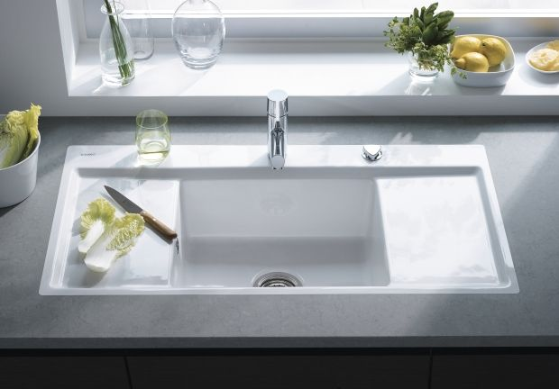 Kiora Z Kitchann Style Duravit Kitchen Sink