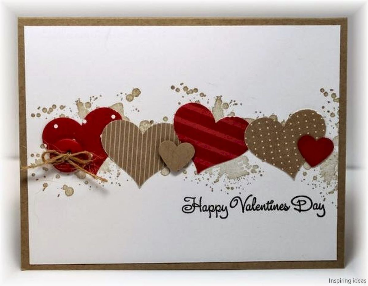 45 unforgetable valentine cards ideas homemade | Cards, Homemade and ...