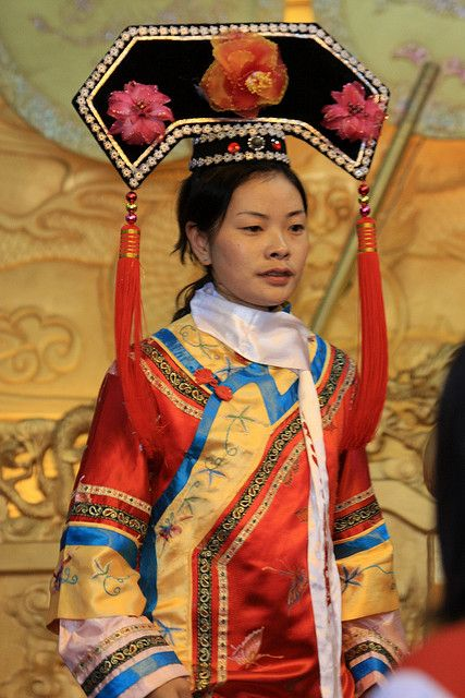 traditional chinese clothing from the 1800s people