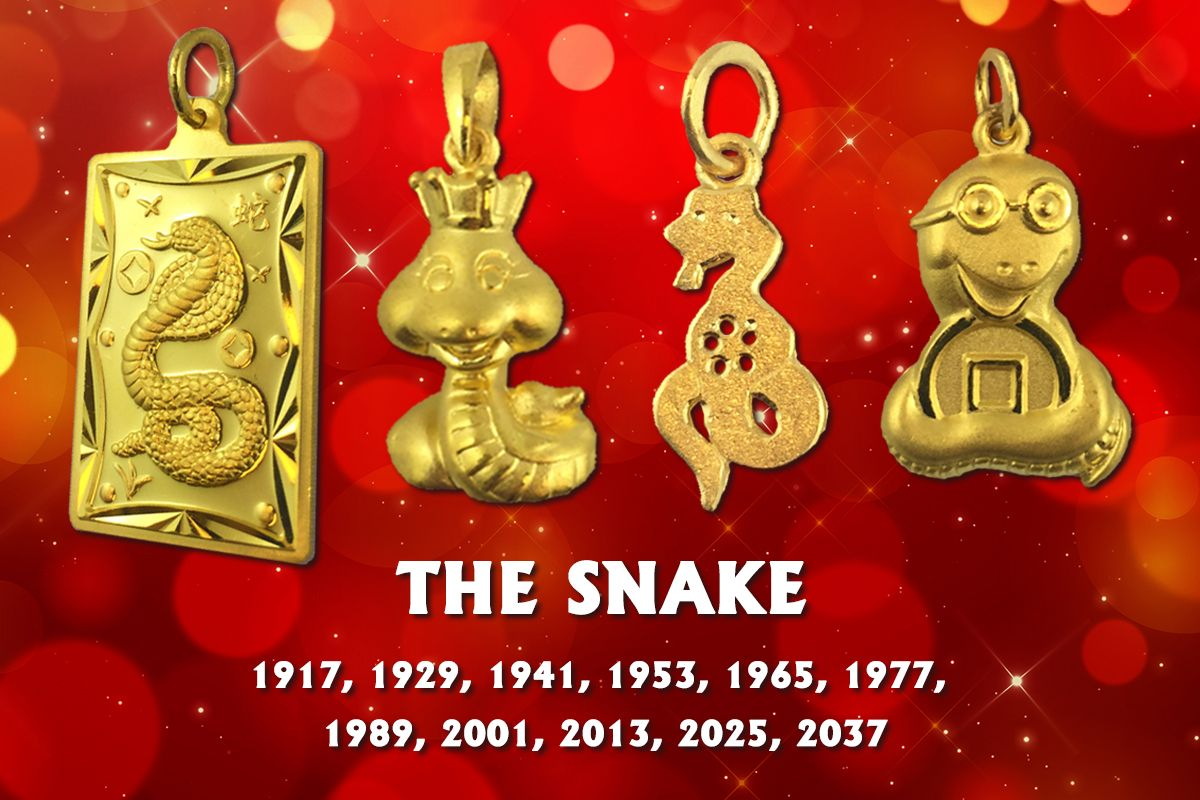Our 24K Gold Chinese Zodiac Charms - Lao Feng Xiang ...