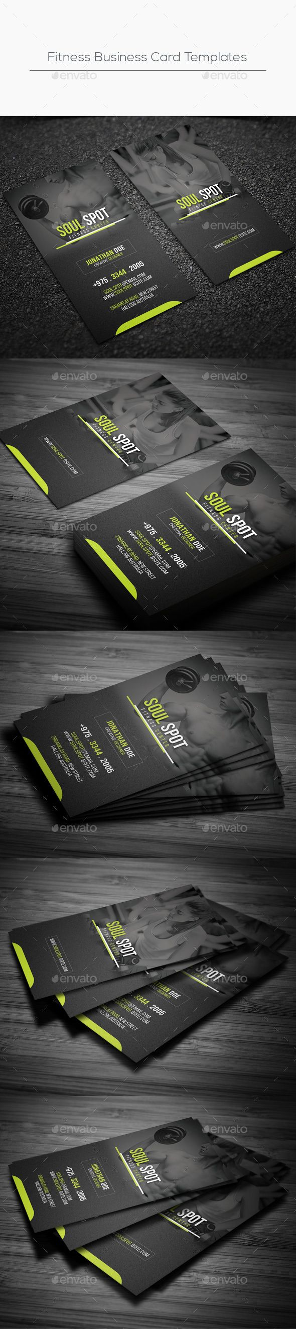 Fitness business card templates card templates business cards and fitness business card template psd download here httpgraphicriveritemfitness business card templates 16427866refksioks reheart Images