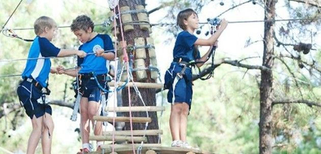 Disfruta en las alturas en Aventura Amazonia de Marbella en Málaga