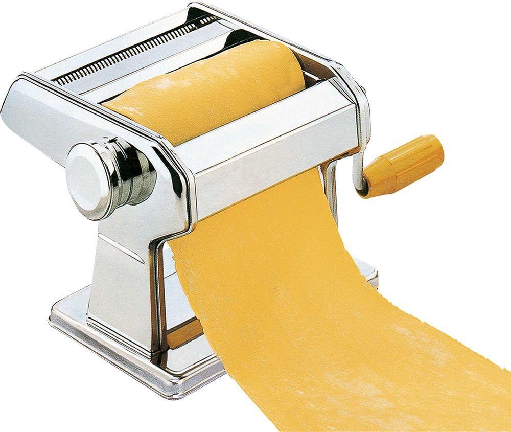 Pastamaschine Nudelmaschine Spagetti Nudel Pasta Lasagne Maker mit Aufsatz