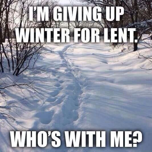We Belles Have A Plan For Lent Just Sayin In 2020 Winter Humor Funny Winter Quotes Snow Humor