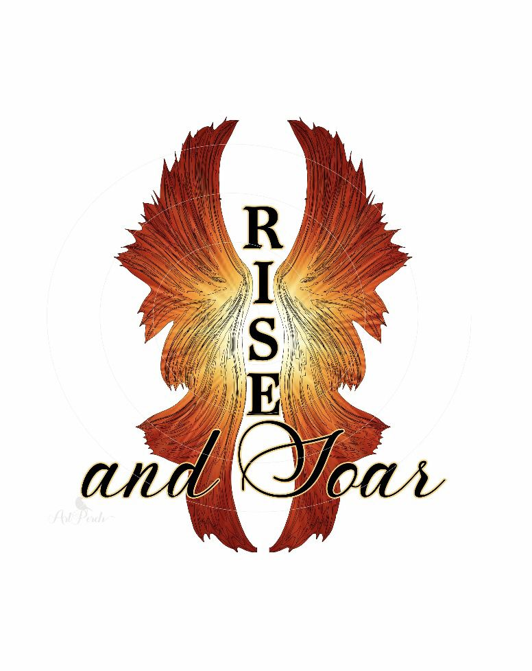 Phoenix Rise And Soar Png Design For Instant Download Etsy Instant Download Etsy Digital Graphics Screen Printing