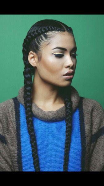 Goddess Braids Tumblr Hairstyles Pinterest Hair Styles Hair
