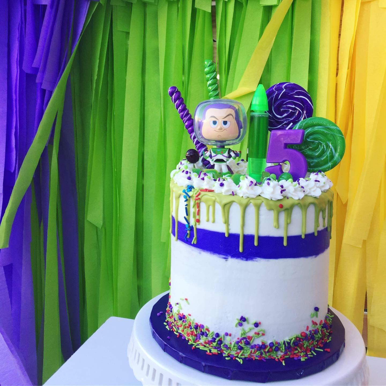 Buzz Lightyear Cake Toy Story Drip Cake Toy Story Birthday Cake