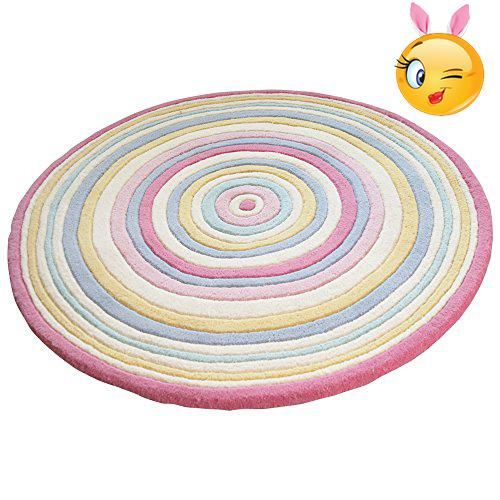 Our rugs are made in #thick wool and offer a warm and soft surface for babies and children to #play on.
