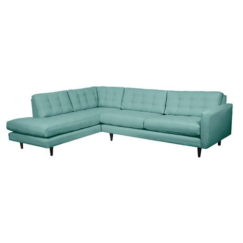 Found it at AllModern - Mid-Century Sectional