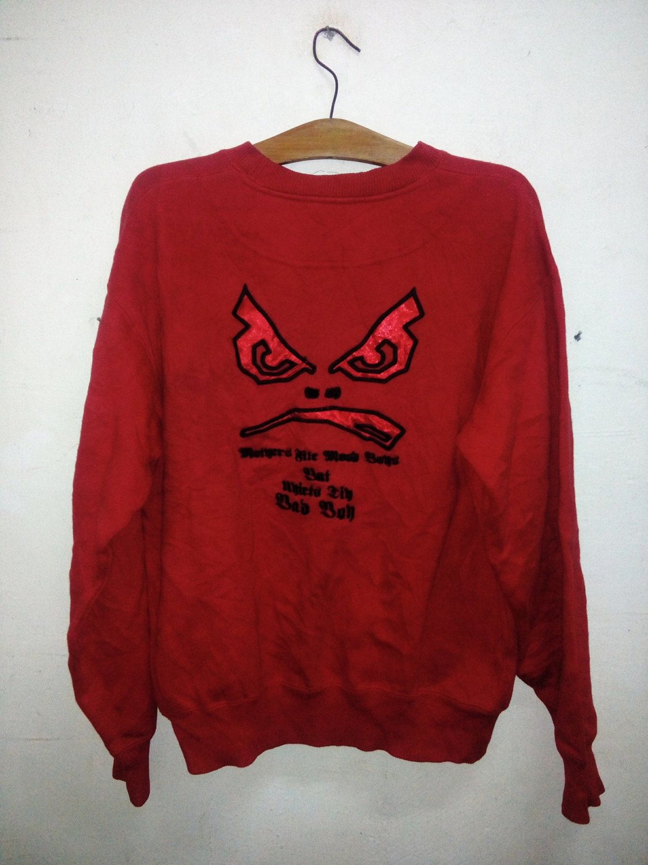 19838381765d9 Sale Rare !! Vintage 90's Bad Boy Clothing Crew Neck Sweatshirt Big ...
