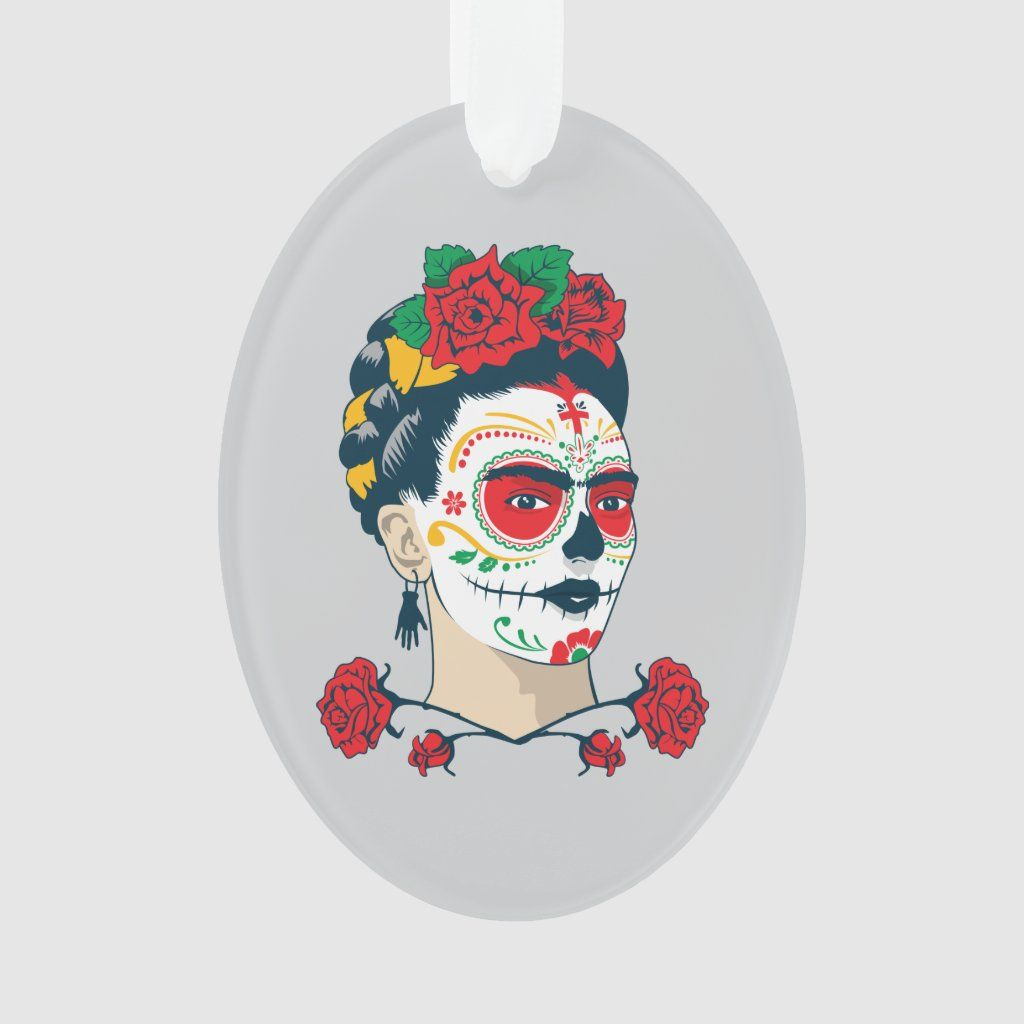 Frida Kahlo El Da de los Muertos Ornament