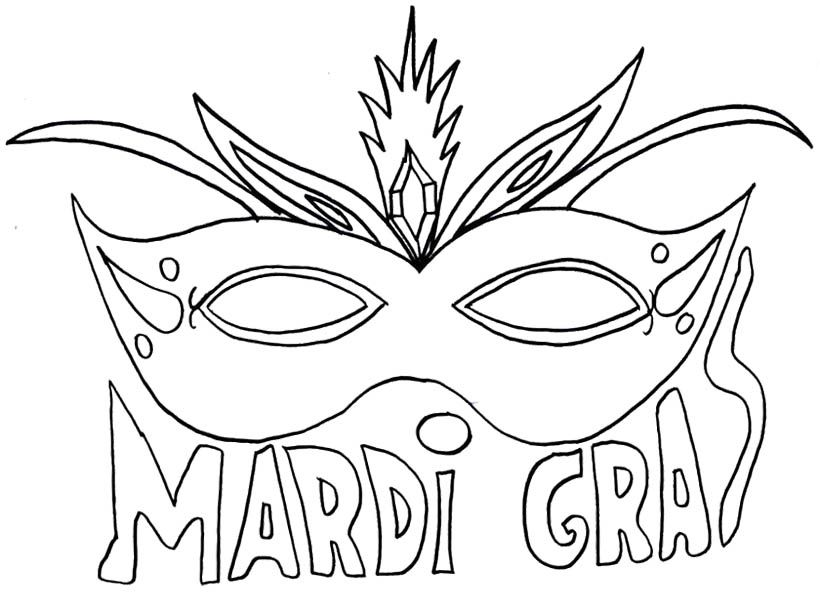 Mask Mardi Gras Coloring Pages For Kids Mardi Gras Coloring Halloween Coloring Pages Halloween Coloring Mardi Gras Mask