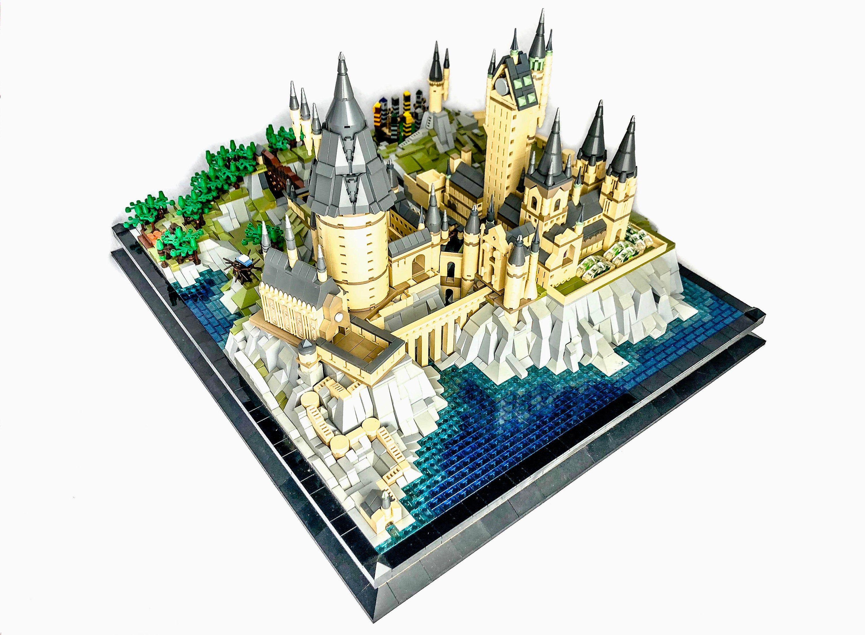 Hogwarts Lego MOC ldd Datei in 2020 (mit Bildern) | Lego ...