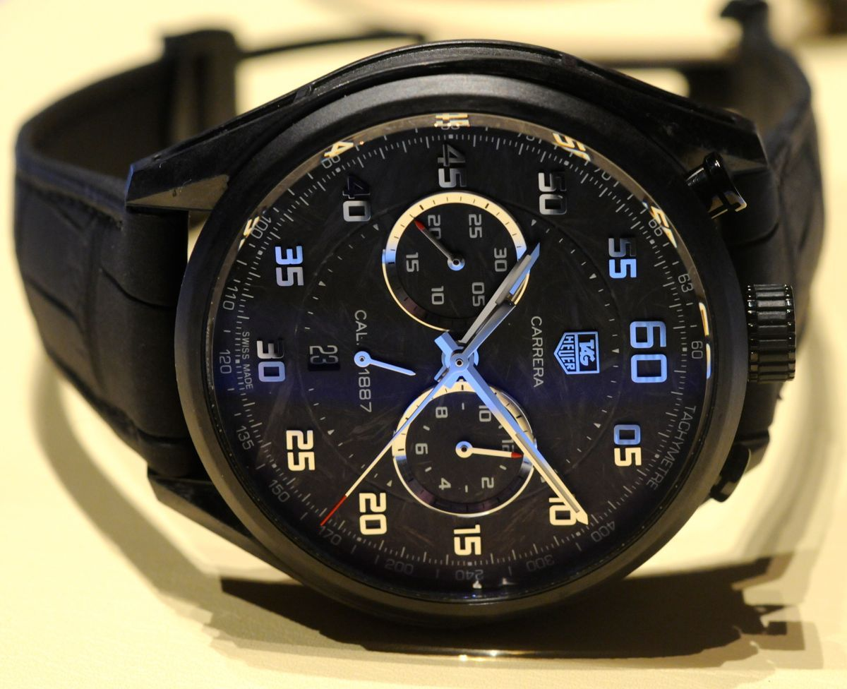 TAG Heuer Carrera CMC Concept - Not much of a flashy watch ...