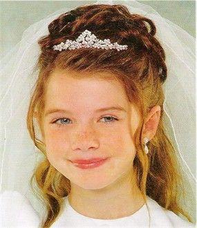 First Communion Hairstyles Communion Hairstyles Girls  Communion Hairstyles*$%  Communion
