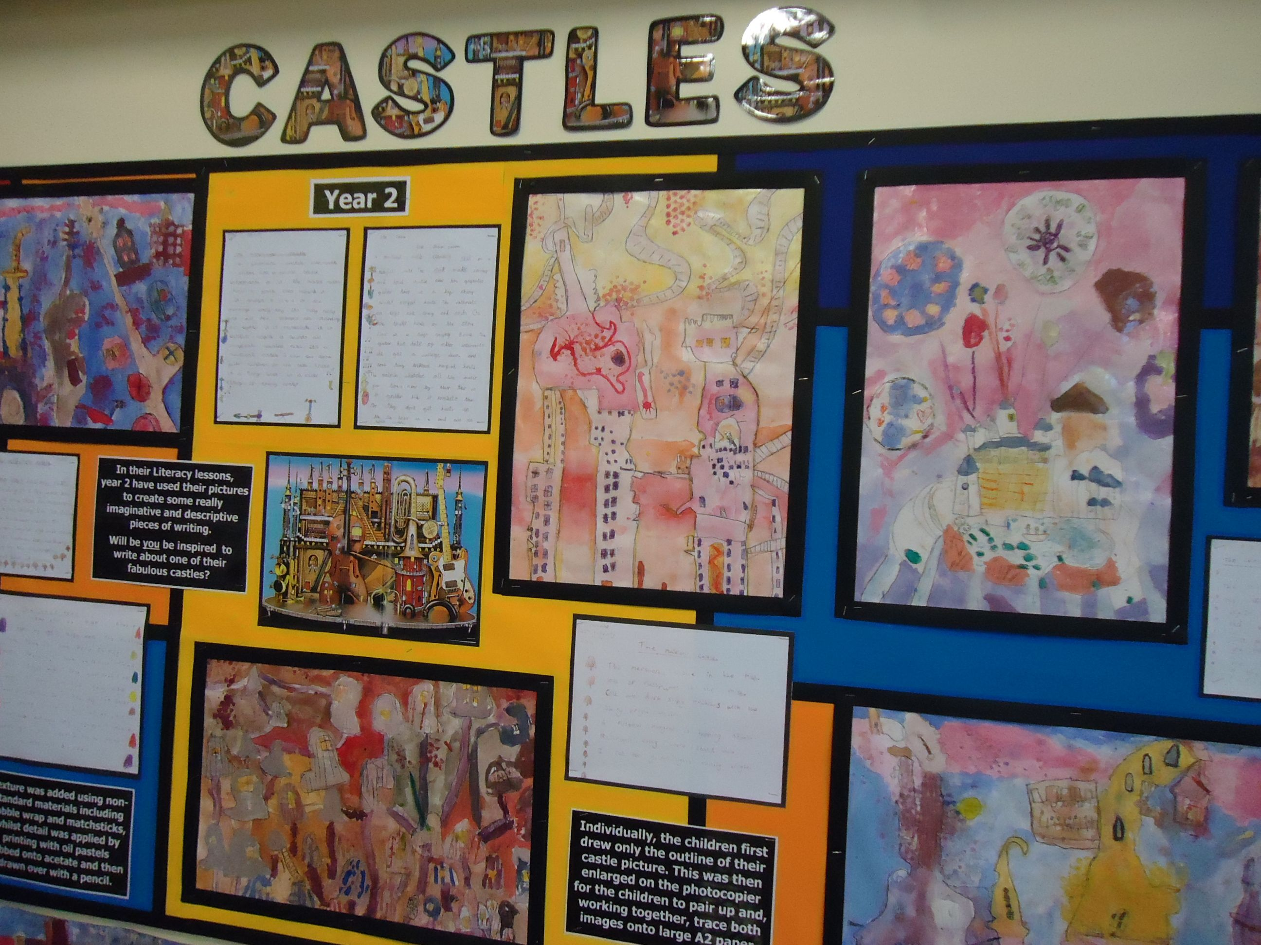 Castles Display Illustration And Colour Theory