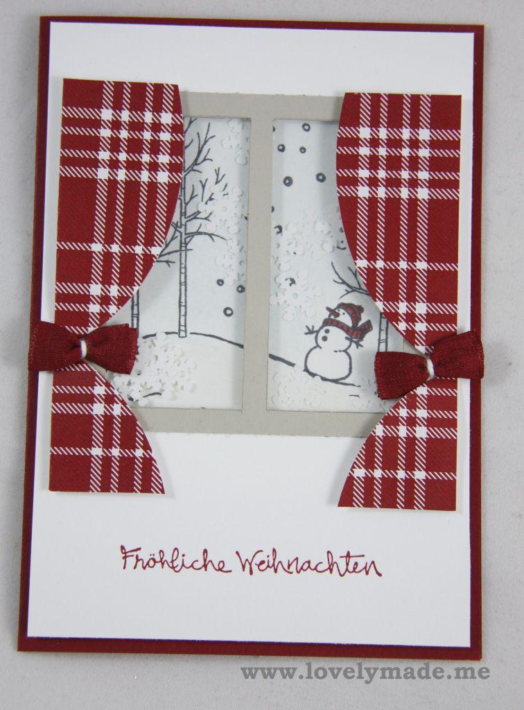 Schüttelfenster-Karte #weihnachtsmarktideenverkauf