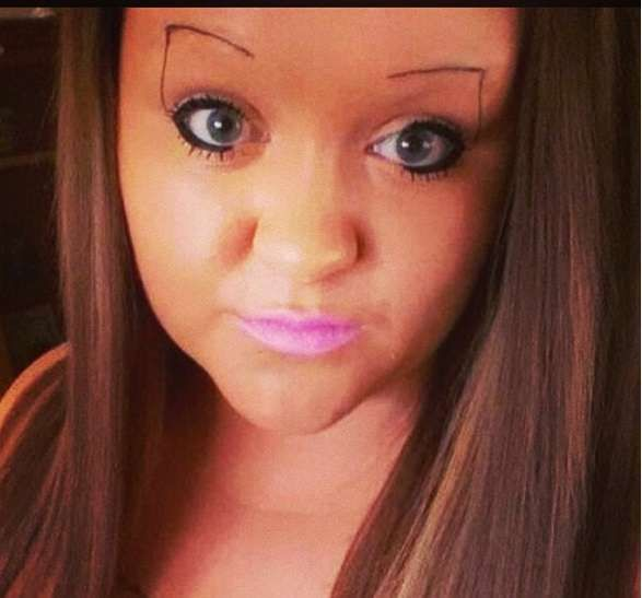 Epic Eyebrows Fails 50 Pictures Sarcasms Because Beating The